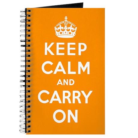 Creamsicle Orange Notebook
