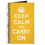 Lemon Square Yellow Notebook