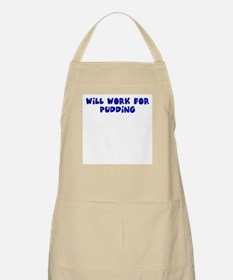 Will work for pudding Apron