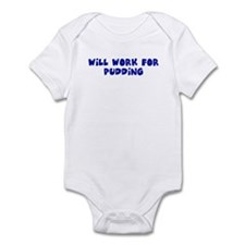 Will work for pudding Onesie