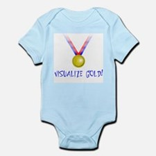 Visualize Gold Infant Creeper