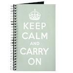 Seaglass Green Notebook