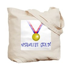 Visualize Gold Tote Bag