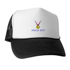 Visualize Gold Trucker Hat