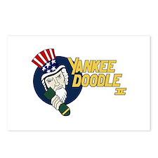 Yankee Doodle II Postcards (Package of 8)