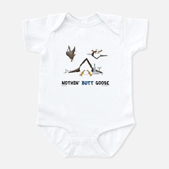 Nothin' Butt Goose Infant Bodysuit