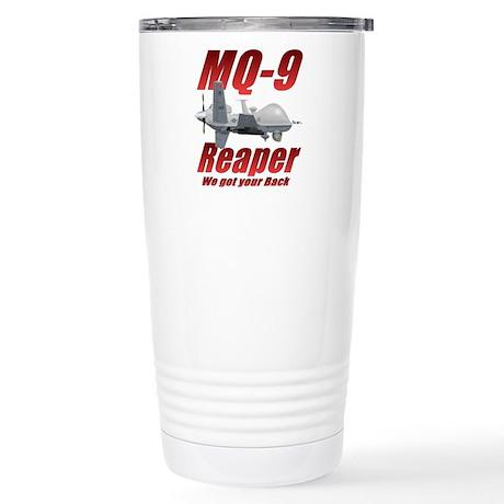 MQ-9 Reaper Stainless Steel Travel Mug