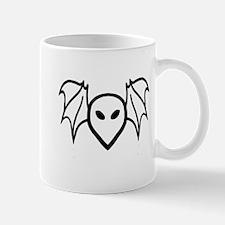 Bat Alien Head Mug