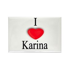 Karina Rectangle Magnet