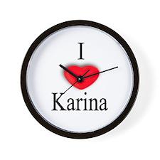 Karina Wall Clock