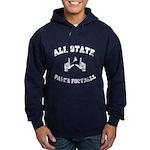 All State Paper Football Hoodie (dark)