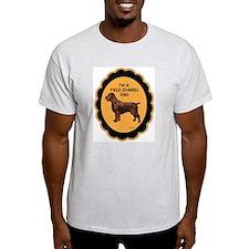 field spaniel dad Ash Grey T-Shirt