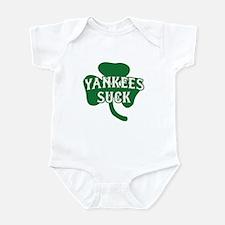 Yankees Suck St. Patrick's Da Infant Bodysuit