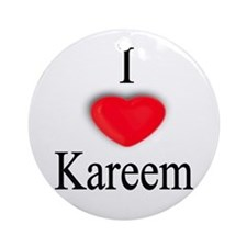 Kareem Ornament (Round)