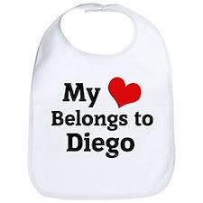 My Heart: Diego Bib
