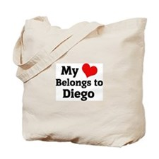 My Heart: Diego Tote Bag