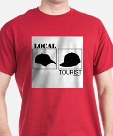 Local vs. Tourist T-Shirt