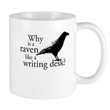 Raven & Writing Desk Small Mugs