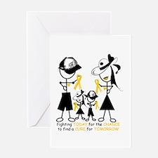 Childhood Cancer Awareness Greeting Card