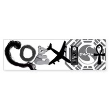 Lost Coexist Car Sticker