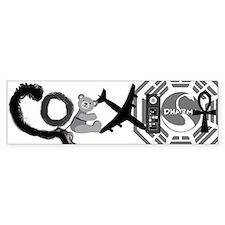 Lost Coexist Sticker (Bumper)