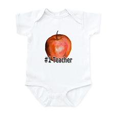 #1 Teacher Infant Bodysuit