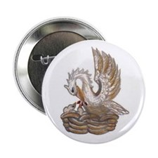 "Arabella's Pelican 2.25"" Button"