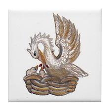 Arabella's Pelican Tile Coaster