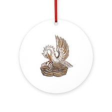 Arabella's Pelican Ornament (Round)