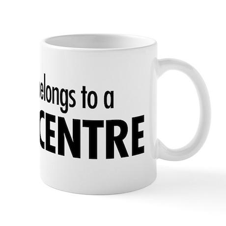 Heart belongs, centre Mug