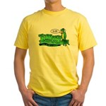 Tommy the Insulting Parrot Lo Yellow T-Shirt