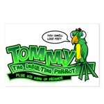 Tommy the Insulting Parrot Lo Postcards (Package o