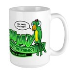 Tommy the Insulting Parrot Lo Large Mug