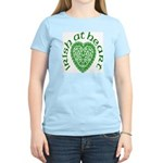 'Irish at Heart' Women's Light T-Shirt