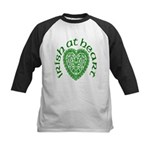 'Irish at Heart' Kids Baseball Jersey