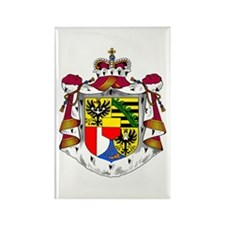 Liechtenstein Coat of Arms Rectangle Magnet