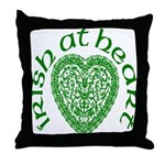 'Irish at Heart' Throw Pillow