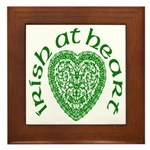 'Irish at Heart' Framed Tile