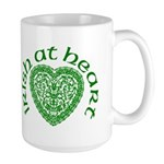 'Irish at Heart' Large Mug