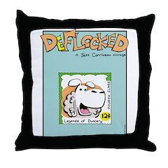 Mamet Stamp Throw Pillow