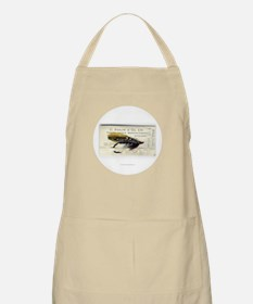 Black Doctor Salmon Fly Apron