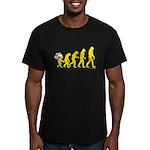 DeVolution Men's Fitted T-Shirt (dark)