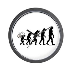 DeVolution Wall Clock