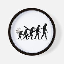 DeVolution Wall Clock