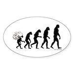 DeVolution Sticker (Oval)