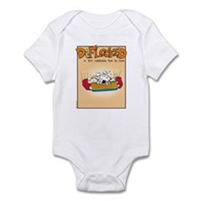 Mamet Lasagna Infant Bodysuit