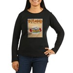 Mamet Lasagna Women's Long Sleeve Dark T-Shirt