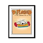 Mamet Lasagna Framed Panel Print