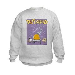 Deflocked Pumpkin Sweatshirt