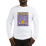Deflocked Pumpkin Long Sleeve T-Shirt